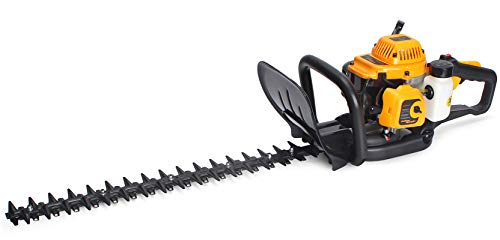 SALEM MASTER Gasoline Hedge Trimmer, 22-Inch 22.5cc 2 Cycle Gas Powered Bush Trimmer Cutting Dual Sided Hedge Clippers for Garden/Lawn Care