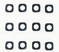 2ピース/ロット新しいリアカメラガラスレンズHuawei P9 Lite G9バックリアカメラガラスレンズ付きステッカー携帯電話パーツ