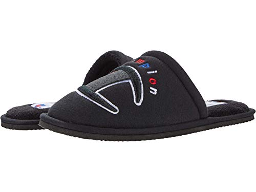 Champion Women's Sleepover II Slippers (Black/Multi, 6)