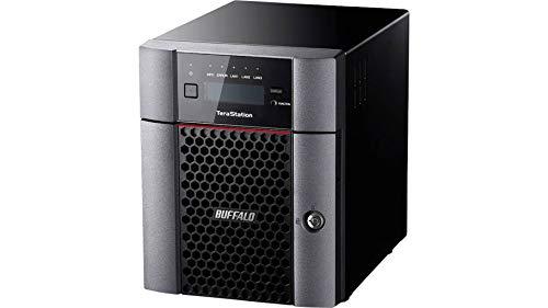 Buffalo TS5410DN3204-EU TeraStation 4-Bay Desktop NAS 32TB (4x8TB NAS HDD, 1x10GbE, 2x1GbE, RAID 0/1/5/6/10/JBOD)