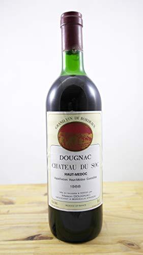 Wein Jahrgang 1988 Château du Soc ELA Flasche