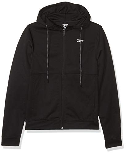 Reebok Workout Ready Full Zip Hoodie - Capucha Hombre