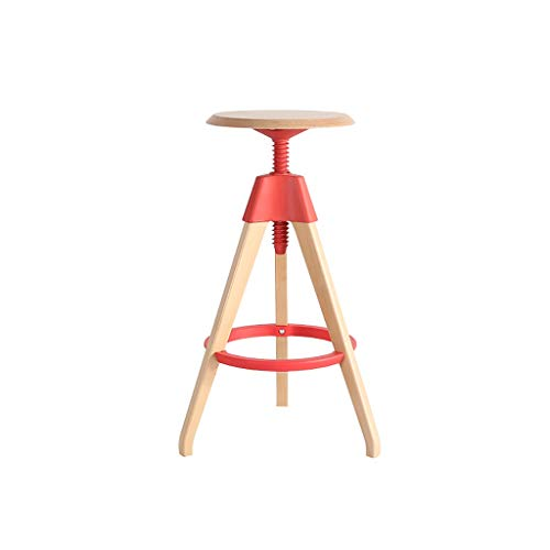 Modern minimalistische bar stoel rugleuning hoge stoel bar kruk voorzijde kassier hoge stoel massief hout bar kruk woonkamer keuken A