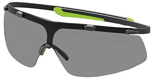 Uvex Super G Gafas Protectoras - Seguridad Trabajo - Lentes Oscuros Anti-rayaduras y Anti-vaho