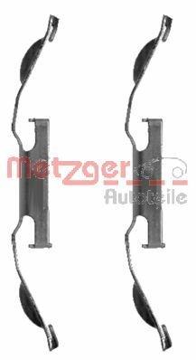 METZGER kit d'accessoires de plaquette de frein, 1221 z