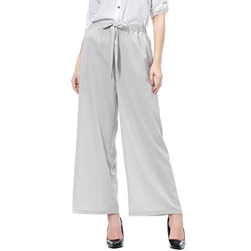 Zarupeng dames slim fit stoffen broek chino elastische taille vrijetijdsbroek leggings losse breedte beenbroek joggingbroek crop broek