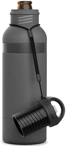 BottleKeeper X Double Walled Vacuum Insulated Bottle with a Bottle Opener Built into the Tethered product image