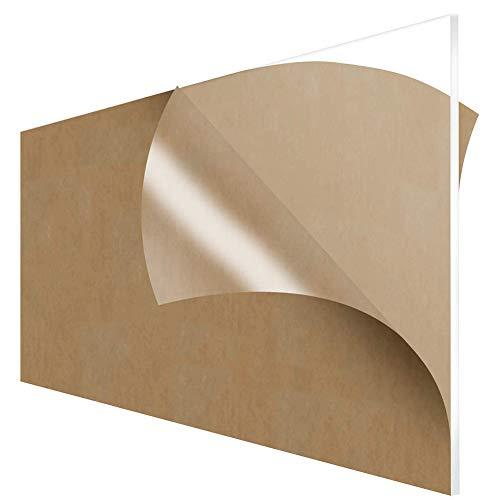 Fly-fiber plexiglas plexiglas-blad kunststof transparant plaat plexiglas-paneel plaatdikte 4 mm, afmeting: 200x350mm