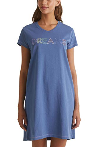 ESPRIT wear Damen DUNIA CAS NW Night Nacht leger Nachthemd, 425, 40