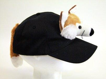 Euro Souvenirs Baseball Cap schwarz Fuchs, Größe verstellbar