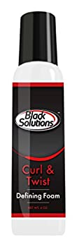 Black Solutions Curl and Twist Defining Foam