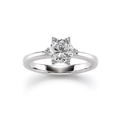 Viventy Damen-Ring 925 Sterling Silber Gr. 56 (17.8) 761001/56