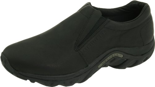 Merrell Men's Jungle Moc Leather Slip-On Shoe,Midnight Slip-On Shoe,8 M US