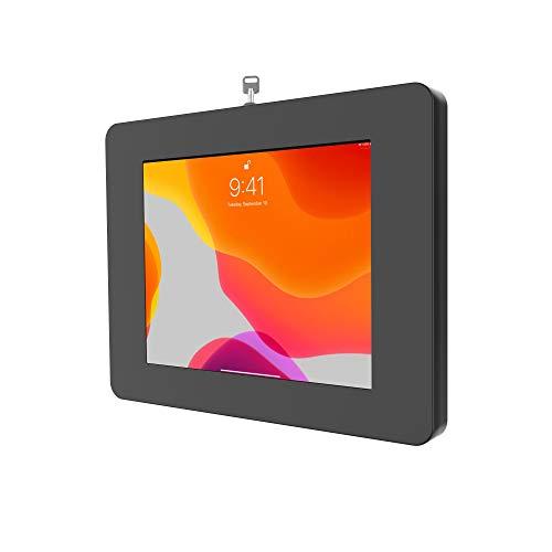 "CTA Digital: Premium Locking On-Wall Flush Mount for iPad 10.2-Inch (7th & 8th Gen.), iPad Air 3 (2019), iPad Gen. 6 (2018), Galaxy Tab S3 9.7"", and More, Black"