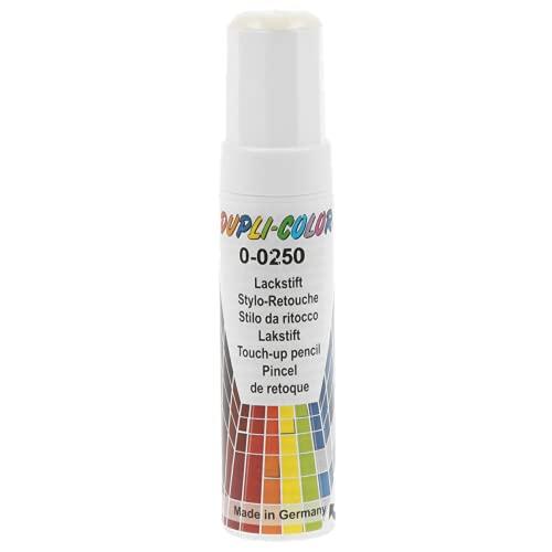 Dupli-Color 598371 Lackstift Auto-Color Grundierung weiß 0-0250 12ml, White