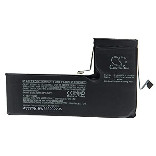 vhbw batteria compatibile con Apple A2160, A2215 smartphone cellulare (3000mAh, 3.83V, Li-Poly)