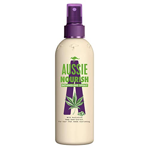 Aussie Nourish Spray Desenredante 250 ml, para Pelo que Necesita Nutrición
