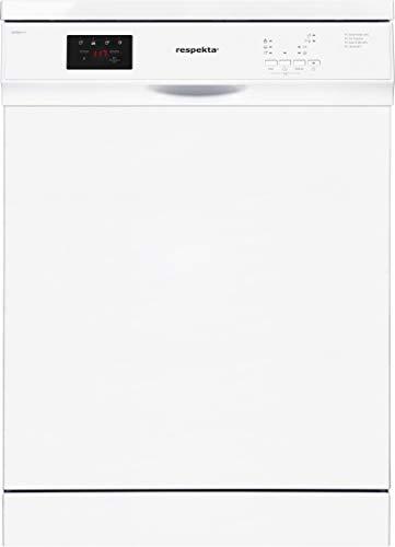 respekta Lavavajillas de pie con pantalla, 60 cm, parcialmente integrado, GSPS60A++V, eficiencia energética: A++, color blanco