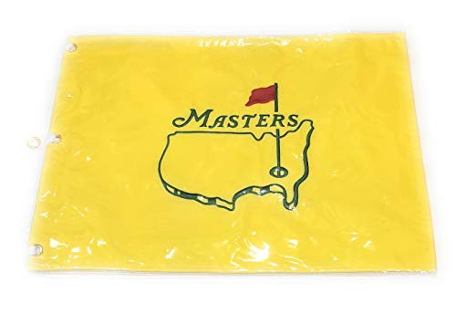 Masters Undated Flag Embroidered Golf Pin Flag from Augusta National