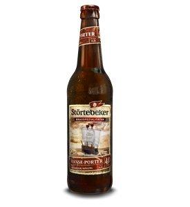 10 Flaschen Störtebeker Hanse Porter CARAMELIG MALZIG a 0,5L Brauspezialitäten 4.0% Vol.inc. 0.80€ MEHRWEG Pfand