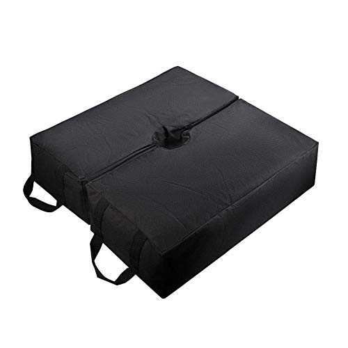 Patio Beach Square Umbrella Base Weight Bag - Zelt Base Weight Bag Für Baldachin Sand Ergonomischer Ständer Gewichtszunahme Für Alle Outdoor-Sonnenschirme Oder Fahnenmasten