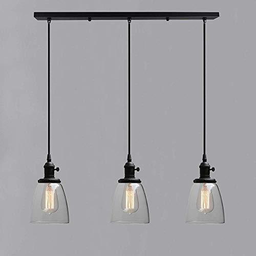 zyh1229 Europese en Amerikaanse glazen lamp industriële stijl woonkamer eetkamer plafond lamp