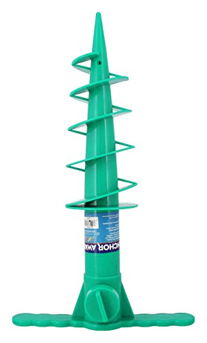 Beach Umbrella Anchor Sand Auger and Fishing Pole Sand Anchor by JGR Copa (Teal)