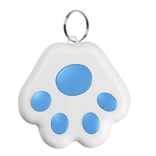 Liadance Mini Anti-Perdida del Gato GPS Alerta Posicionamiento niños Dispositivo Llavero Azul Accessaries