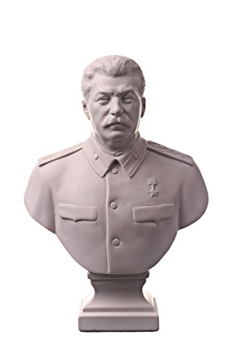 danila-souvenirs Estatua de busto de mármol soviético del