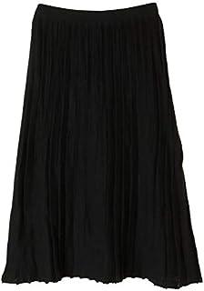 アメリカンホリック(AMERICAN HOLIC) ?ロングニットプリーツ風スカート