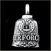 US Air Force Logo Gremlin Bell guardian biker harley motorcycle good luck charm