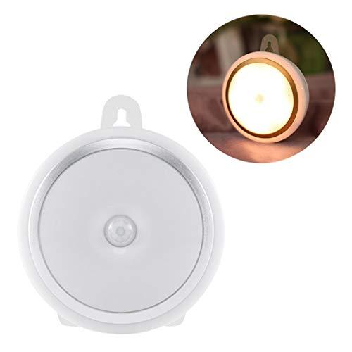 Abcidubxc Nachtlicht,LED-Induktionslicht,LED Wandleuchten Einfachheit Wandleuchte Schlafzimmer Nachttisch Moderne Minimalistische Hemisphäre