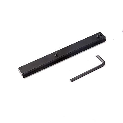 Ulightfire 154mm 13-Slot Weaver/Picatinny Rail Mount Adapter 20mm Low Profile Mount Rail Scope Mount Base