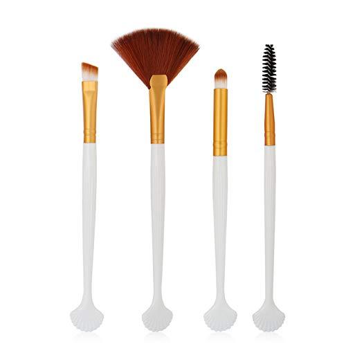 DMXY 4pcs kit de pinceau de maquillage professionnel pinceau de maquillage cosmétique fard à joues fard à paupières outil de brosses,A