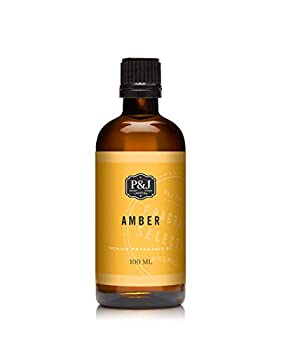 P&J Trading Amber Fragrance Oil for Candle Making Soap Making Slime Diffusers Home and Crafts - 100ml