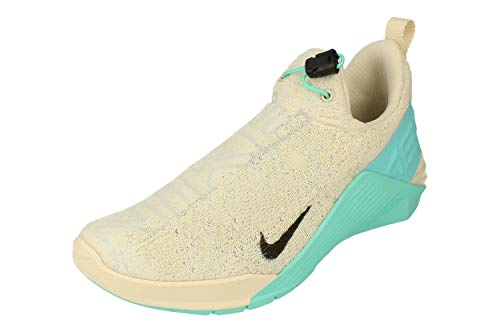 Nike Mujeres React Metcon Running Trainers BQ6046 Sneakers Zapatos (UK 6 US 8.5 EU 40, Light Cream Black Green 203)