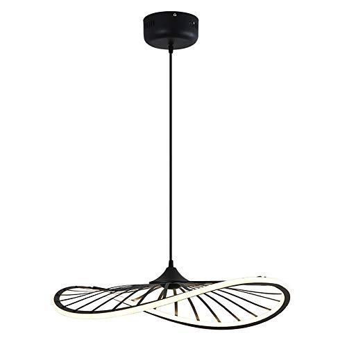 Luckly Lámpara Colgante LED Regulable Araña de Luces Restaurante Salón Comedor Dormitorio Cocina Luces Decorativas Lámpara de Diseño con Forma de Sombrero 3000K-4500K-6000K