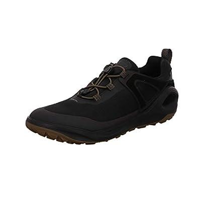 ECCO Men's Biom 2Go Speed Lace Gore-TEX Hiking Shoe, Black/Tarmac/Black Textile, 43 M EU (9-9.5 US)