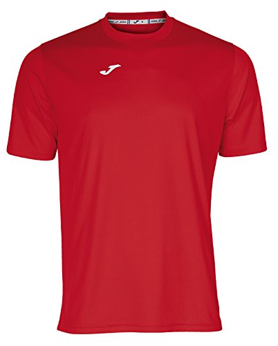 Joma Combi Camiseta Manga Corta, Hombre, Rojo, M