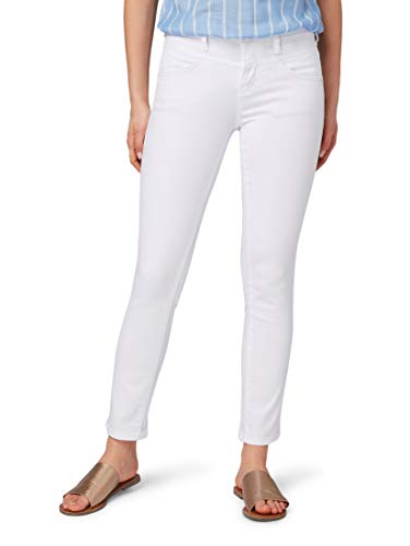TOM TAILOR Damen Jeanshosen Alexa Slim Hose White,26/32