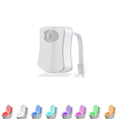 LAVAED Motion Sensor Toilet Night Light