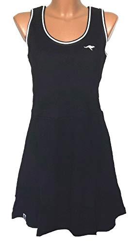 KangaROOS - Strandkleid Skaterkleid Sommerkleid Damen Skater Kleid Damenkleid Gr. 32 schwarz