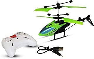 mQFIT Exceed Fligh Electronic Radio RC Remote Control Toy Charging Helicopter Toys with 3D Light Toys for Boys Kids Indoor...