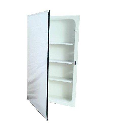National Brand Alternative 561280 Aluminum Nutone Recessed Plastic Medicine Cabinet, 16″ x 20″ (2-(Pack))