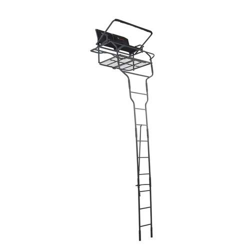 OL'MAN TREESTANDS Assassin 18' Dual Ladder Stand with Millennium Style ComfortMax Seat