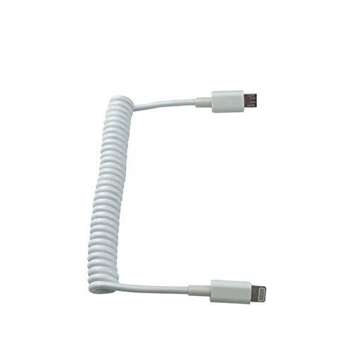 KINGDUO Cable De Datos Elásticos para Soporte De Controlador Remoto Hubsan Zino H117S-For iPhone
