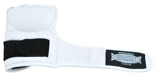 Kunstleder FreeFight MMA Handschuhe Ultimate Fighter weiß - Sehr hohe schlagabsorbierende Eigenschaft Abbildung 2