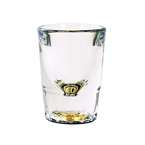 工房ヤマセン辻佛檀 『蜃気楼グラスハート』 ショットグラス 44ml 水を入れると模様が現れるグラス 本漆 純金箔 螺鈿