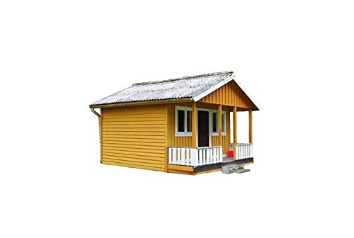 Cabin Plans With Loft DIY Cottage Guest House Building Plan 384 sq/ft