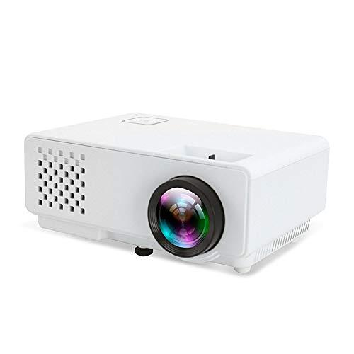 Prtukytt draagbare mini-projector, draadloze bluetooth, home theater LED-HD-projector, mobiele telefoon met 3D-conversie ingebouwde subwoofer 300 inch groot scherm